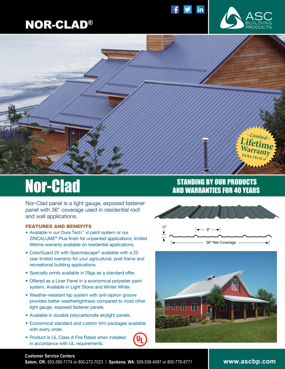 Nor-Clad Roofing | Metal Roofing Anchorage, AK