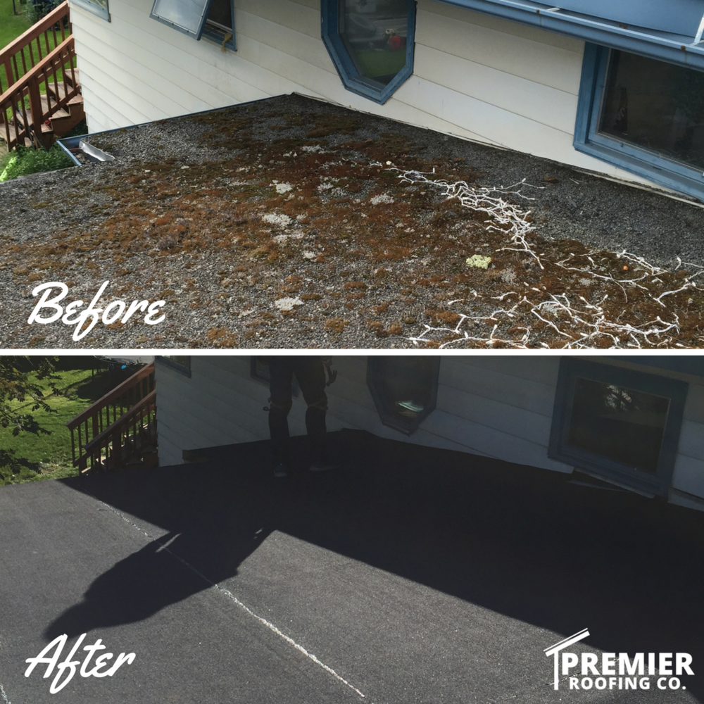 APP Modified Bitumen Roof - Anchorage, Alaska - Premier Roofing Co.