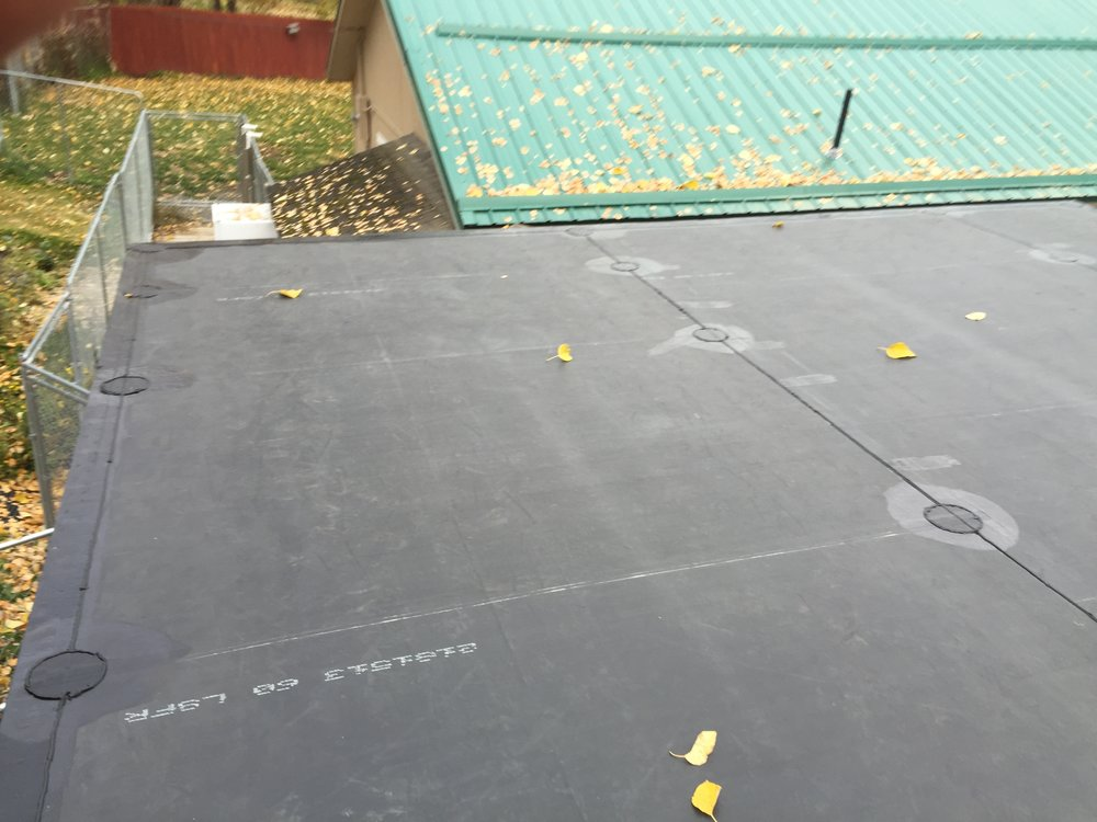 EPDM (rubber) Roof - Anchorage, Alaska - Premier Roofing Co.