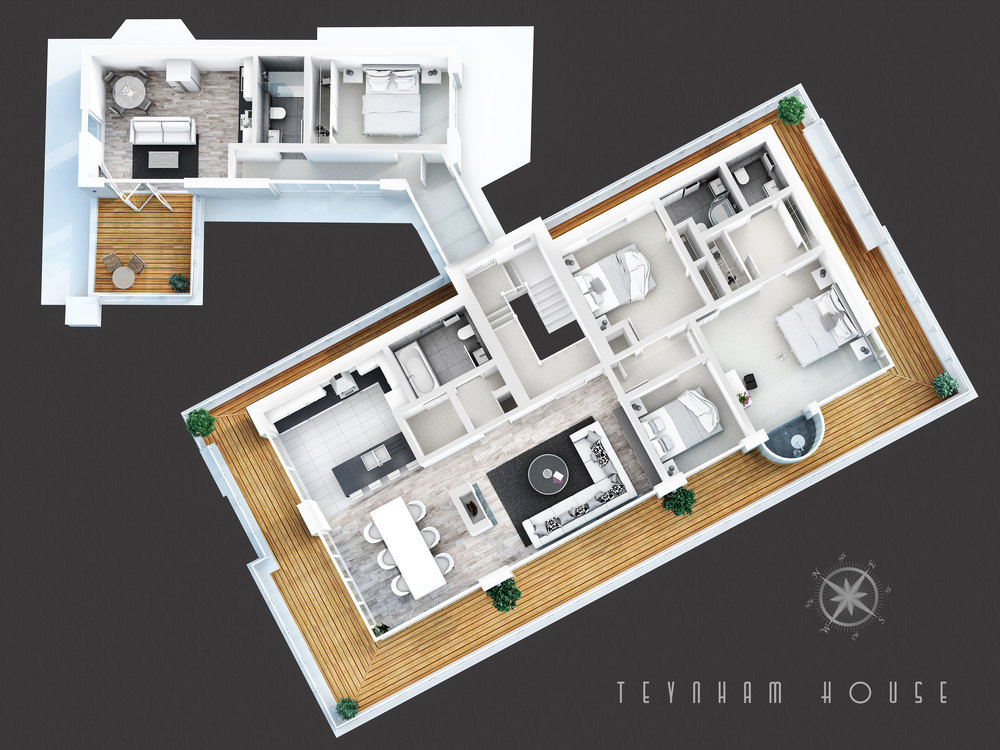 Teynham House Floorplans