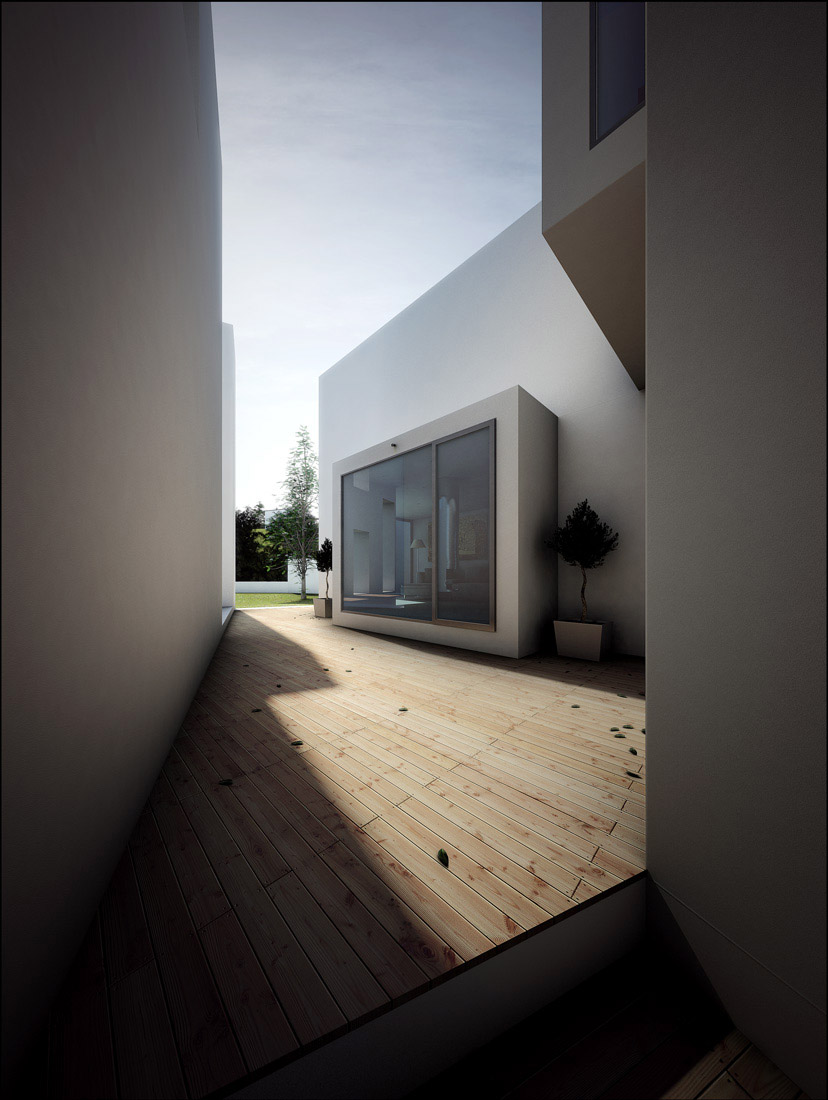 Casa Em Alenquer  - Architectural Visualisation - Alenquer, Portugal