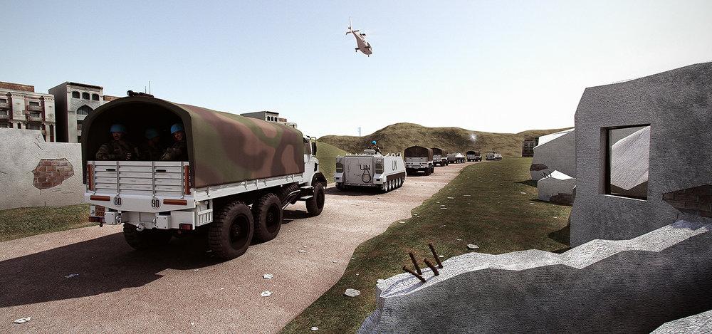 Convoy Security - Scenario Illustration