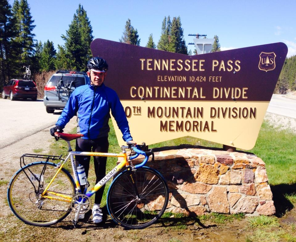 Brian at the Continental Divide