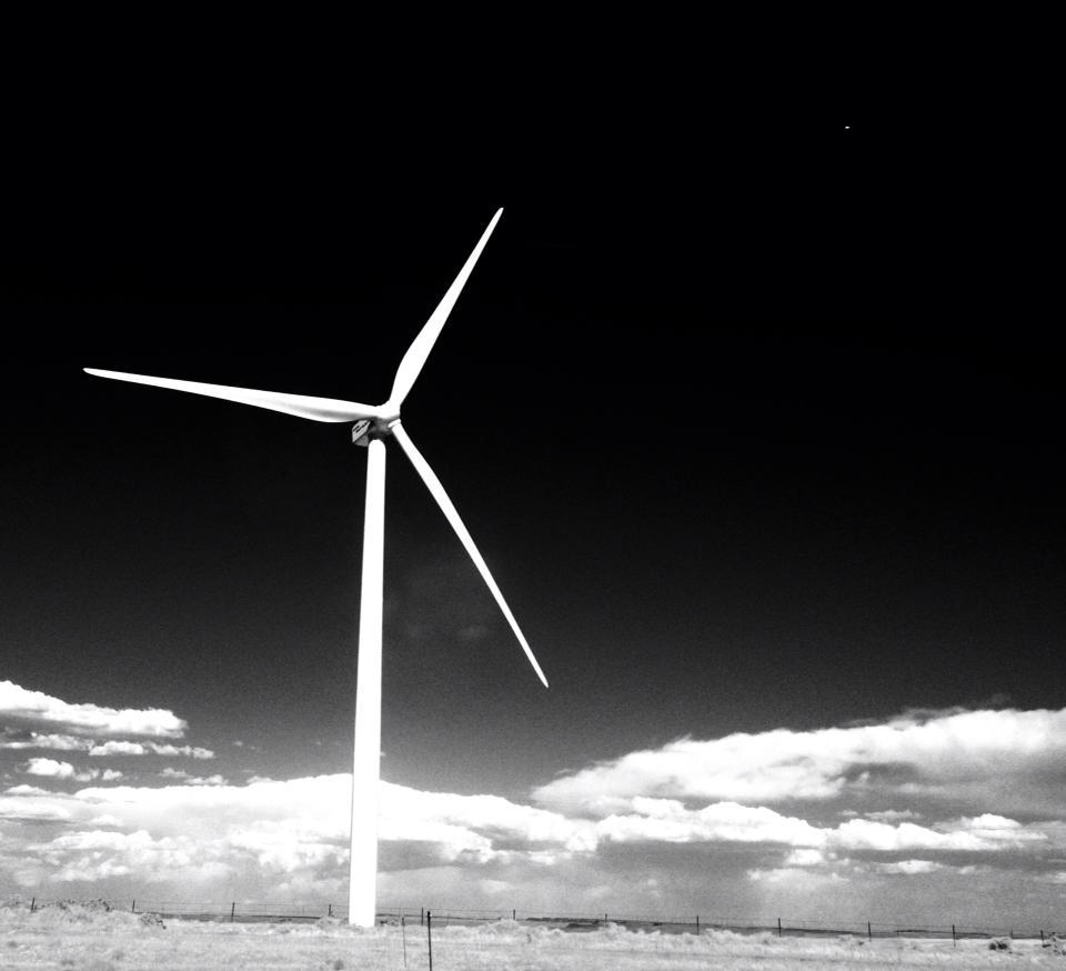 Brian's wind generator