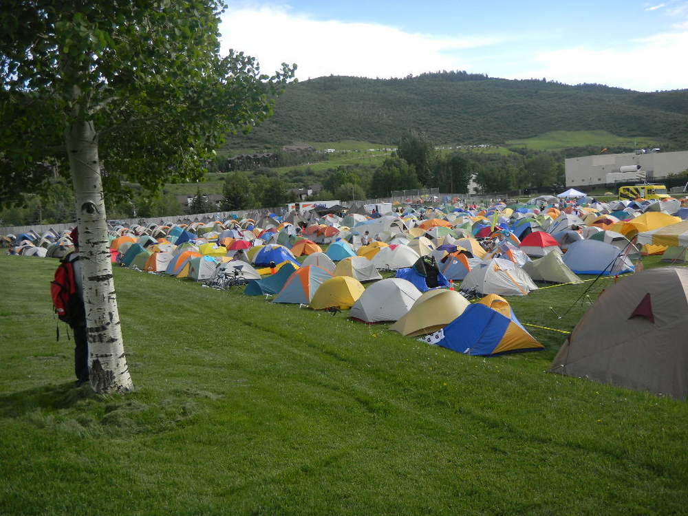 Tent City in Avon Day 4