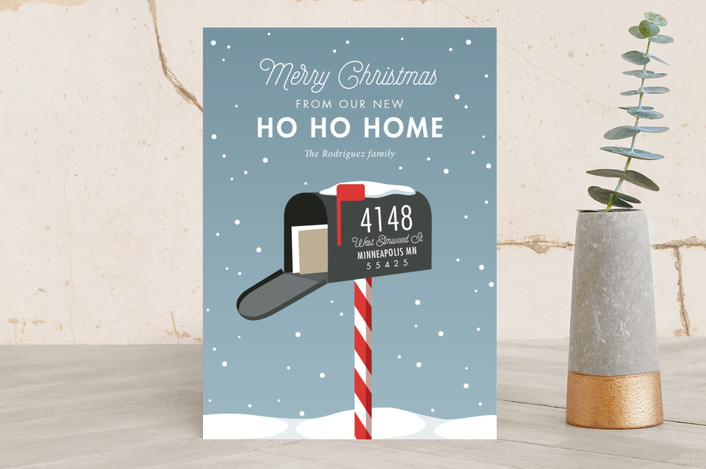 """Merry Mailbox"" for Minted.com"