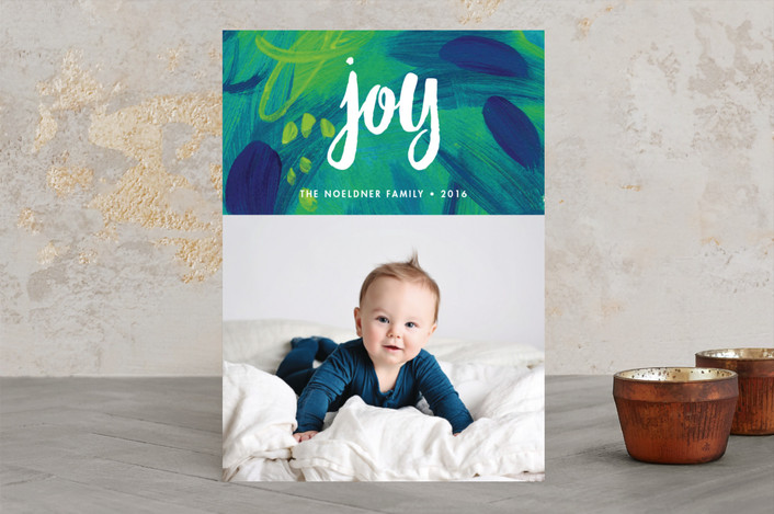 """Painted Joy"" for Minted.com"