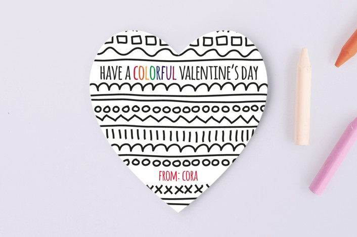 Colorful Valentine's Day @ minted