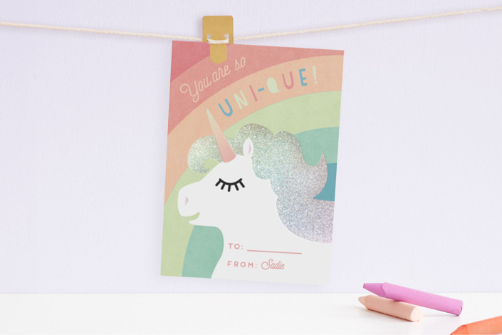 Rainbows! Unicorns! Glitter! @ minted