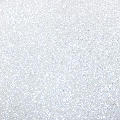 Image Gallery White Glitter