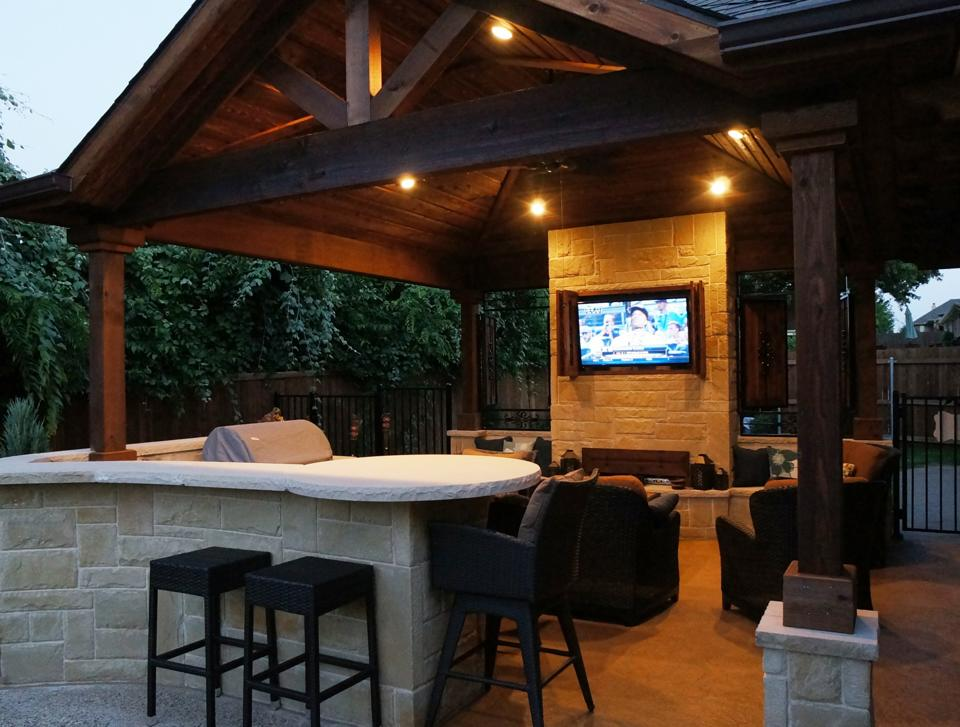Outdoor Living Room Pictures blog — platinum fence & patio | dallas fences | outdoor patios