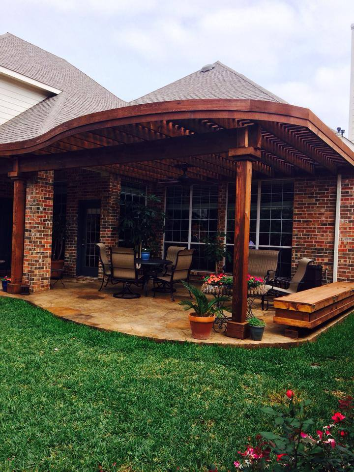 Patio Cover Coppell Platinum Fence And Patio
