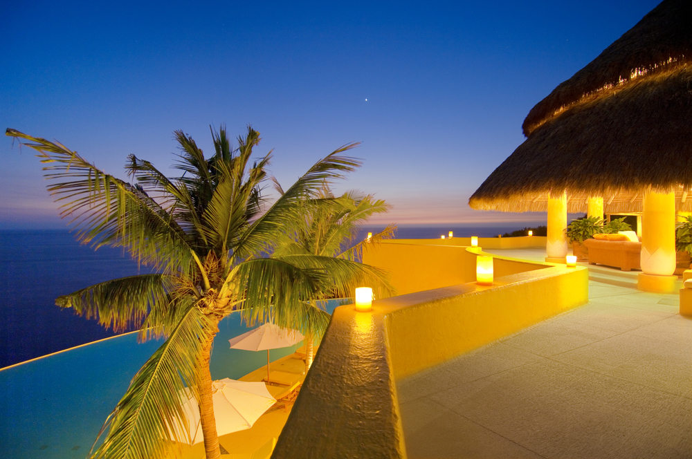 Costa Careyes.Castle.SoldeOriente.Palapa Twilight.jpg