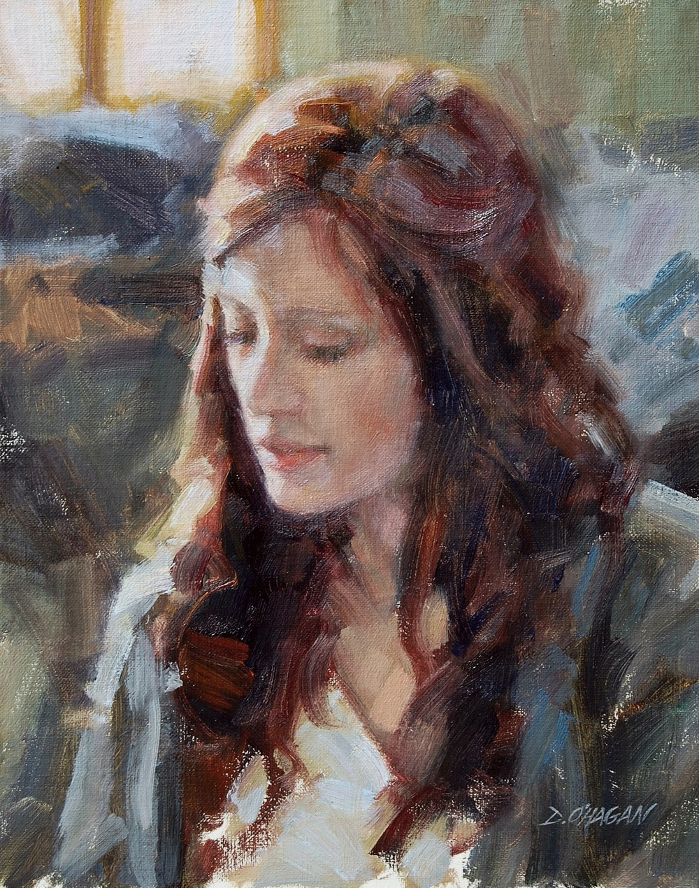 """Young Woman""</BR>11"" x 14""</BR>Oil"