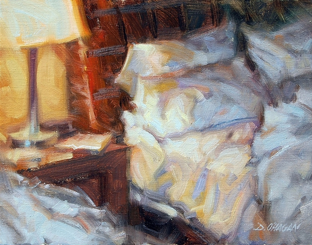 """Hotel Morning, San Francisco"" </BR>11"" x 14""  </BR>Oil"