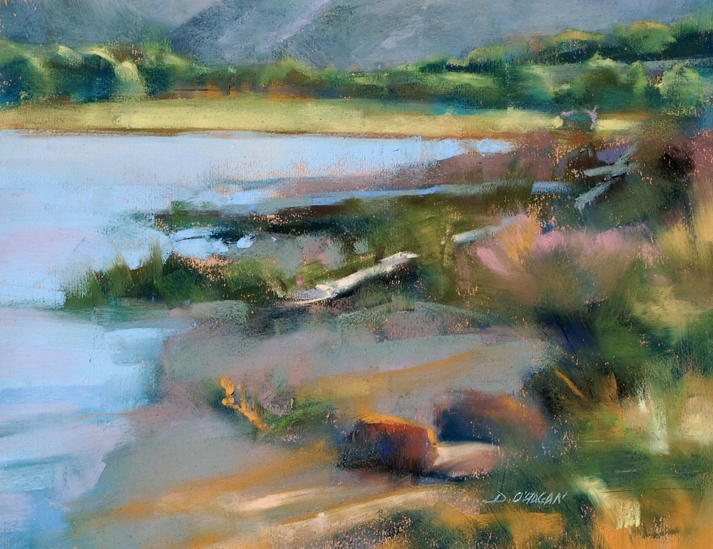 """Lake Dillon #2""    </BR>11"" x 14""  </BR>Oil"