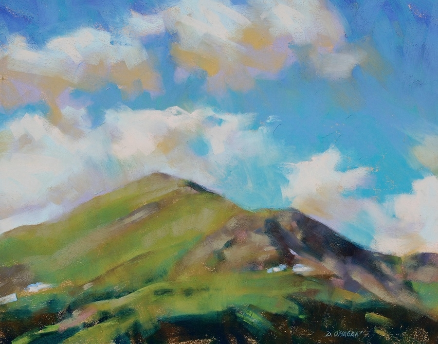 """North of Leadville""   </BR>16"" x 20""   </BR>Pastel"