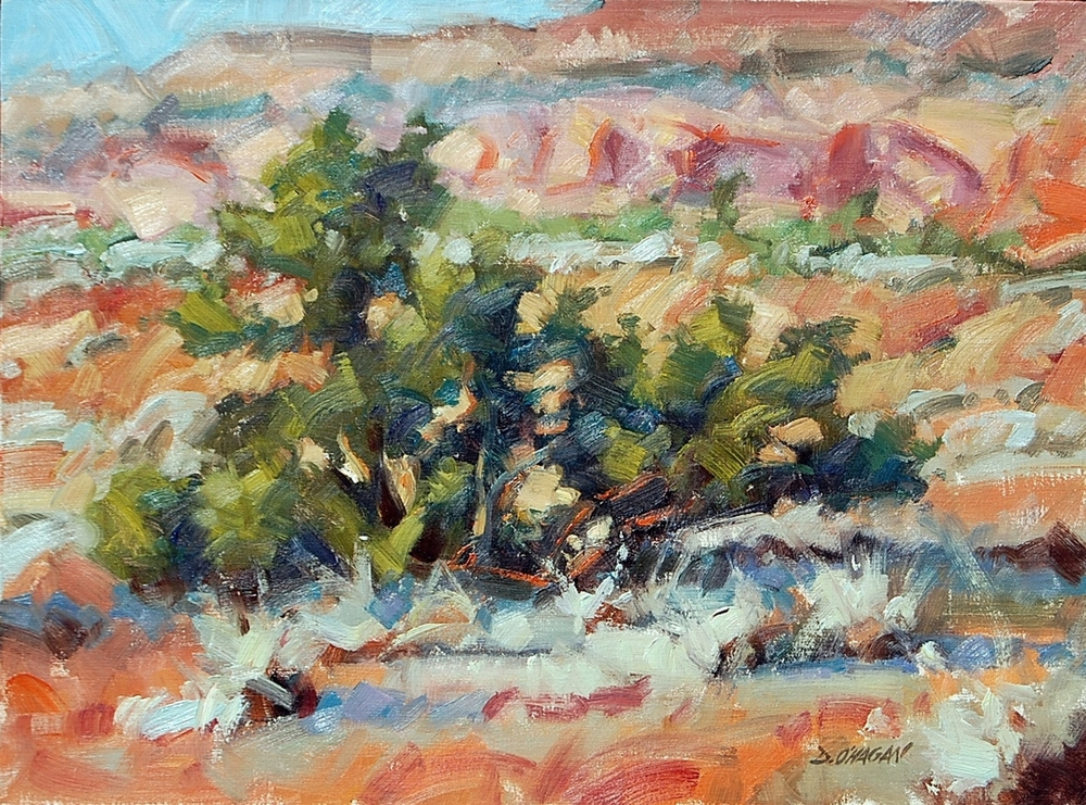 """Northern New Mexico""  </BR>18"" x 24""   </BR>Oil"