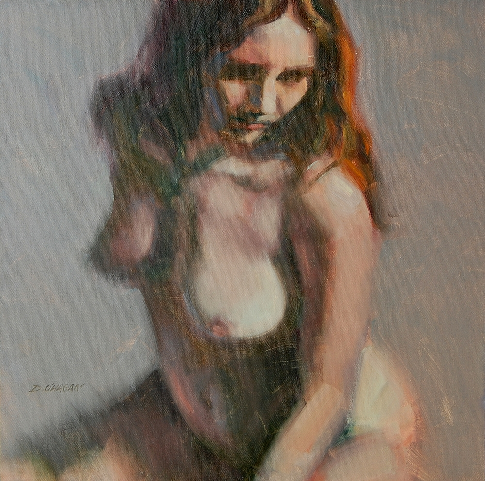 "The Female Figure  #2 </br>18"" x 18""</br>Oil"