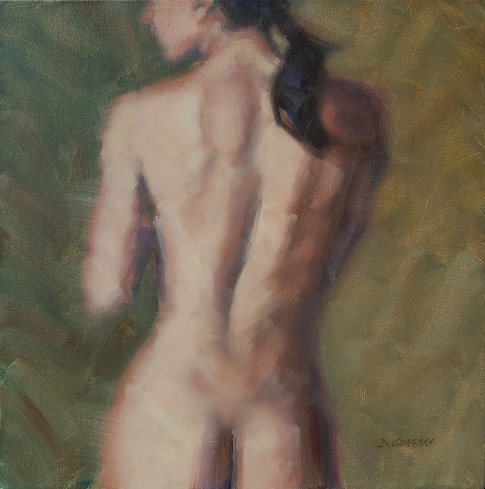 "The Female Figure #1  </br>18"" x 18""</br>Oil"