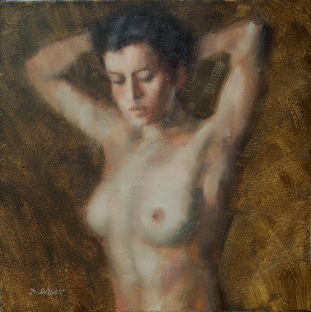 "The Female Figure #9  </br>18"" x 18""</br>Oil"