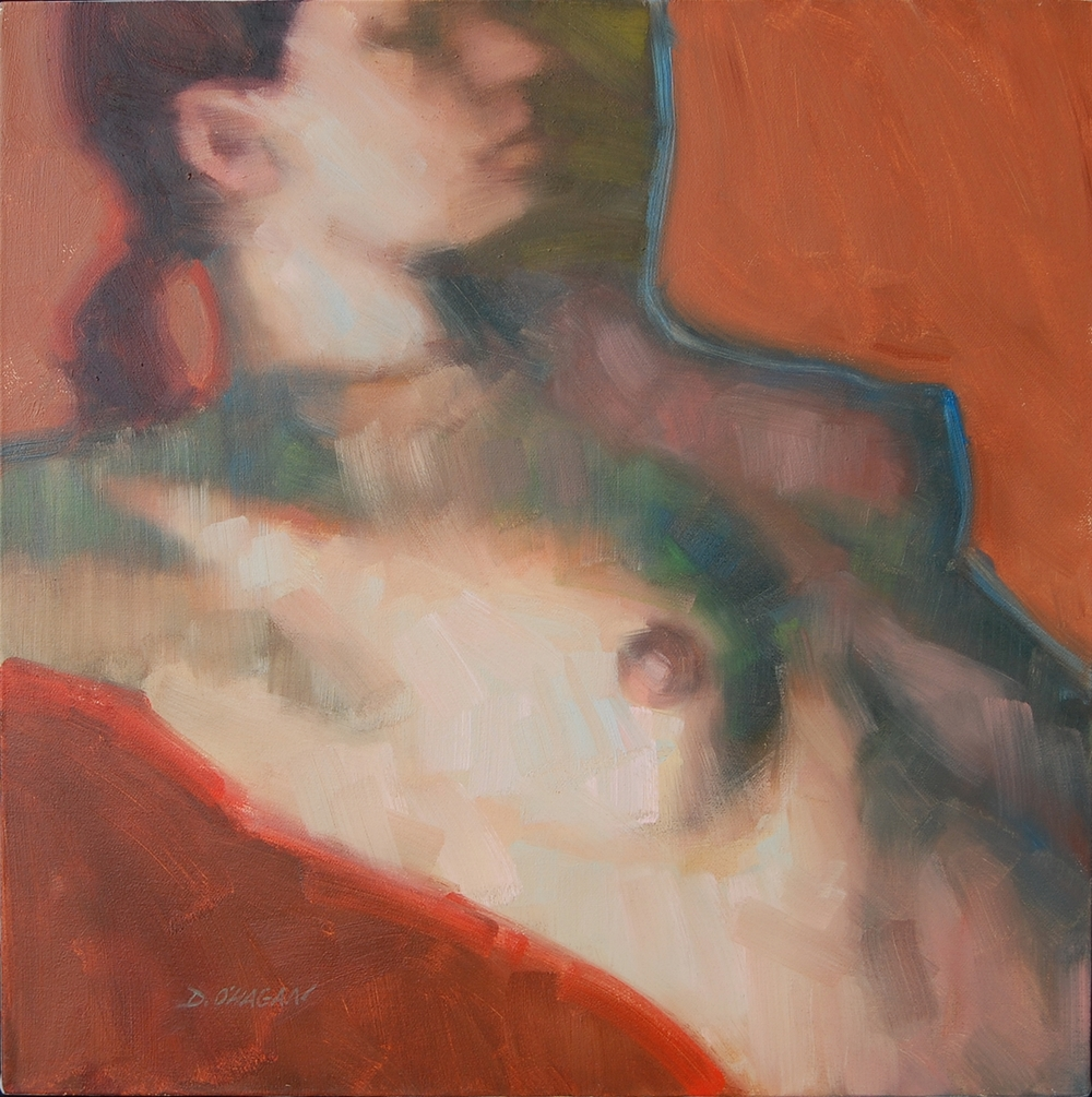 "The Female Figure #12   </br>18"" x 18""</br>Oil"