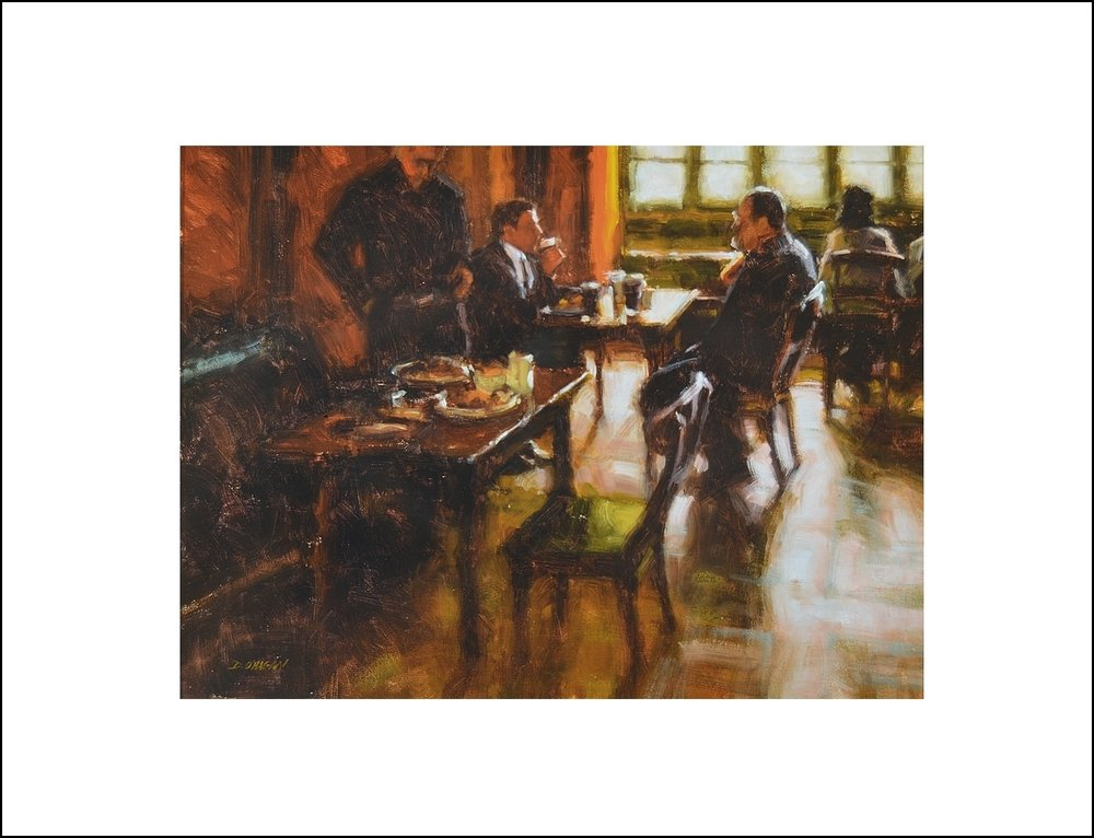 """Lunch Conversation, Dublin"""