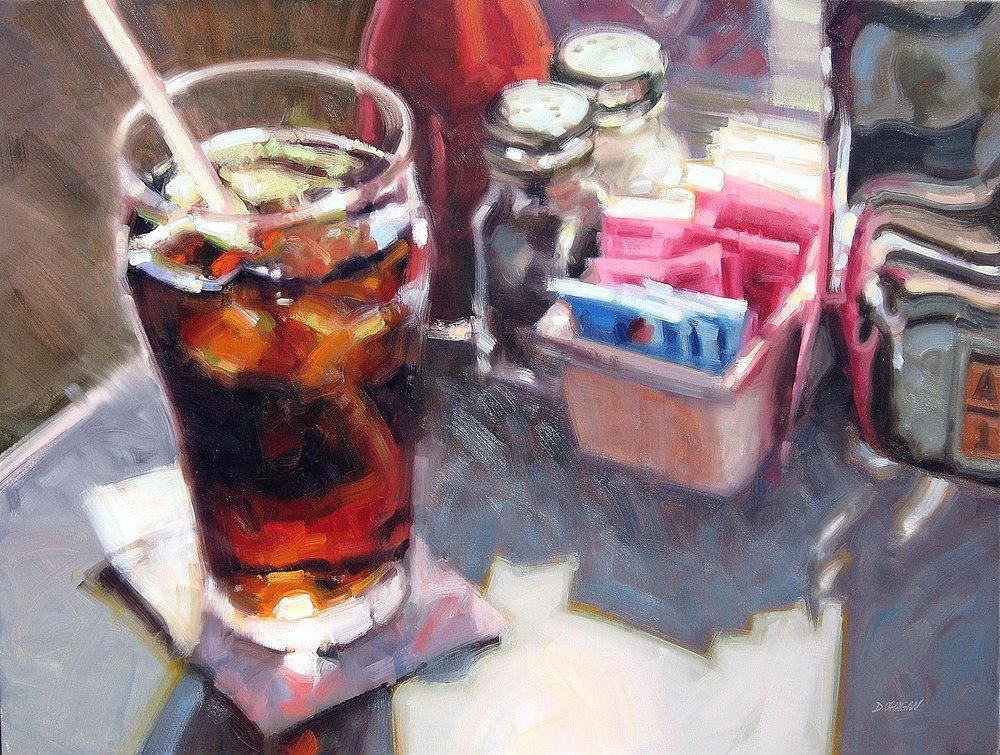 "Copy of ""Diner Still Life"" </BR>36"" x 48""  </BR>Oil"