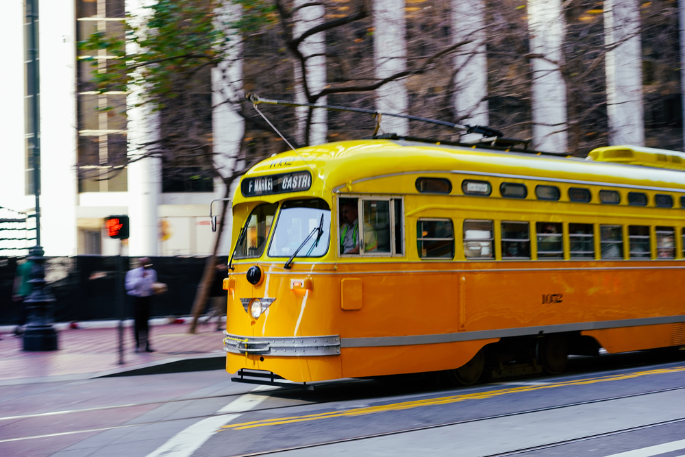 Market Street Vintage Train