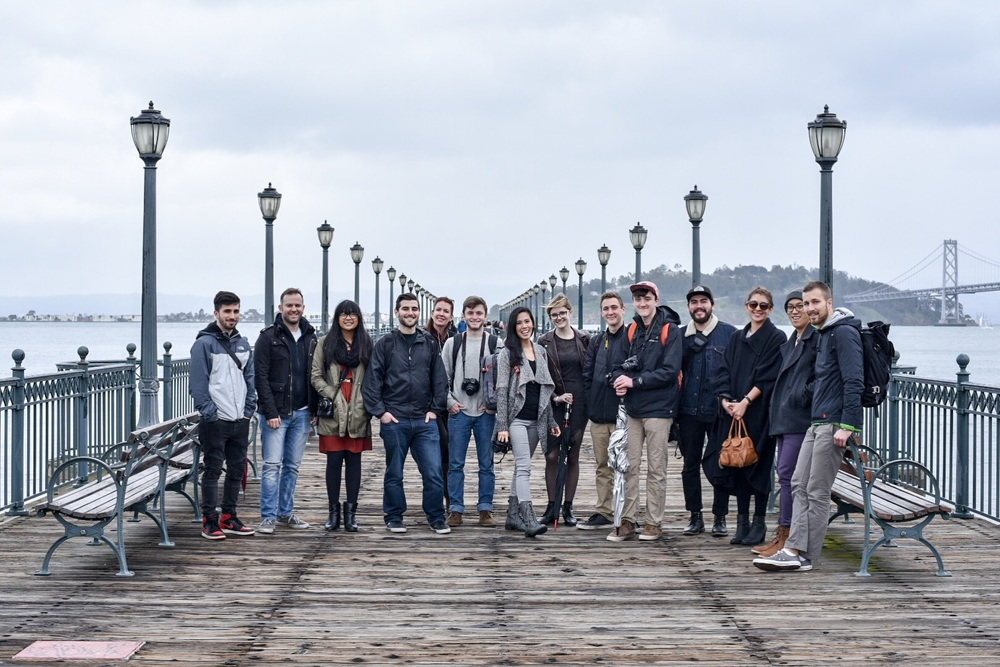 Attendees of the San Francisco Instagram Portrait Meet (photo via  Steven Nisotel )