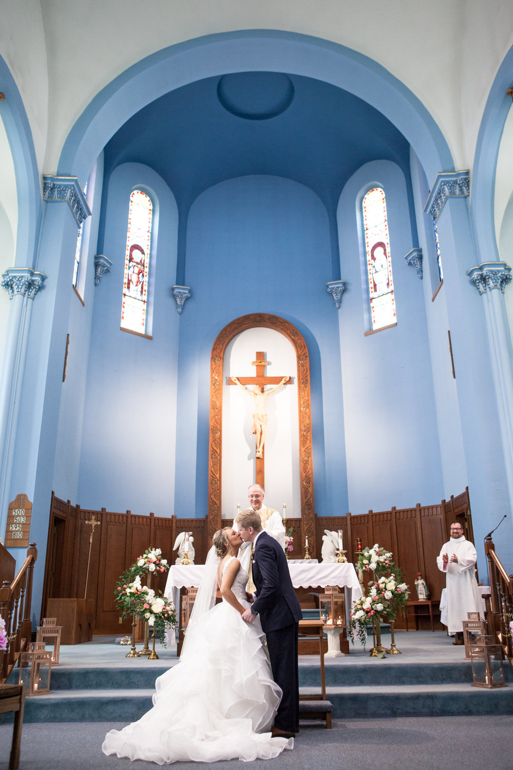 St. Patrick Catholic Church Minonk Packard Plaza Peoria Bloomington Normal Illinois Wedding Photographer Photographers Peoria Riverfront-23.jpg