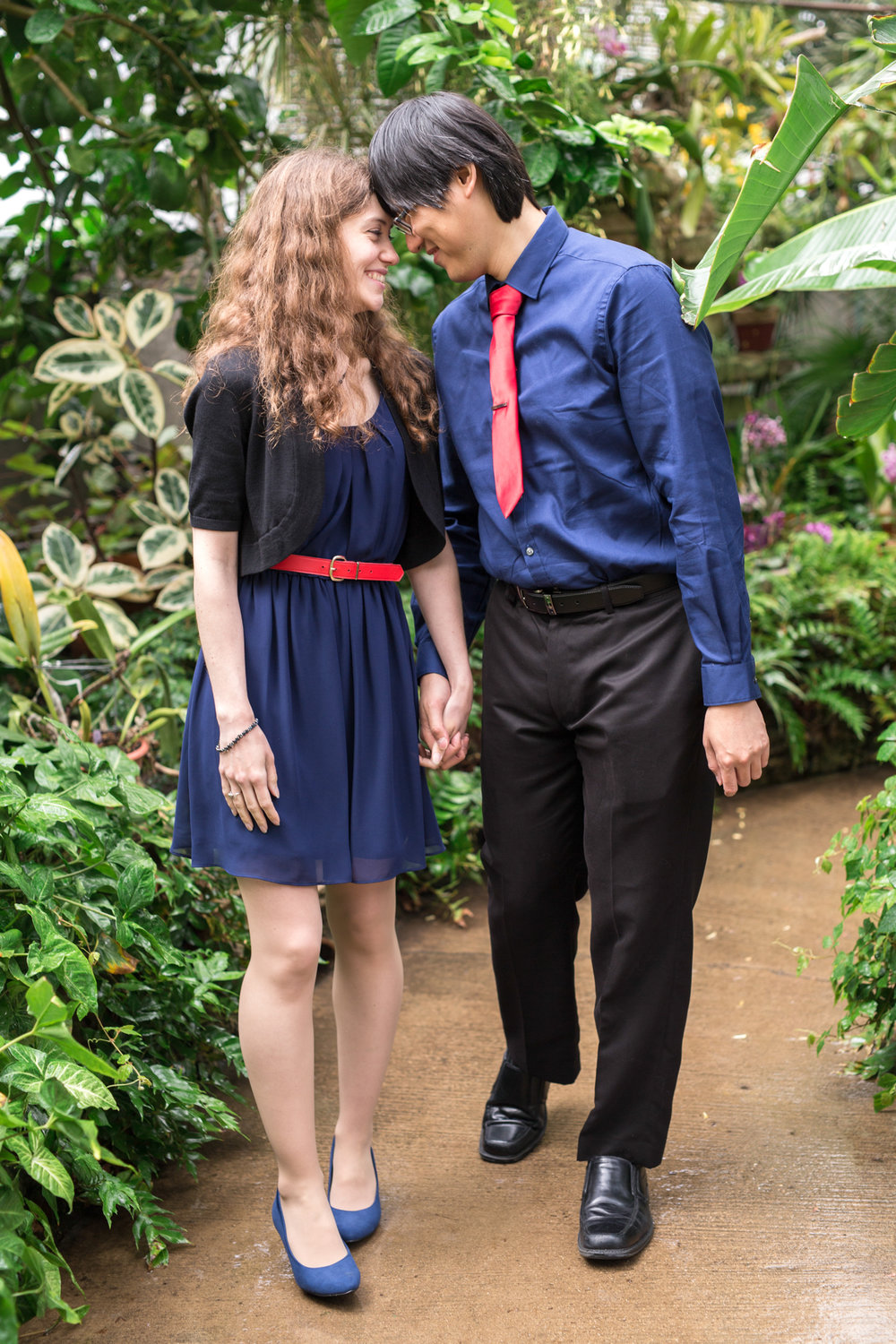 luthy botanical gardens greenhouse engagement biracial couple peoria centrail illinois wedding photographer photographers bloomington normal illinois valley lasalle peru ottawa-17.jpg