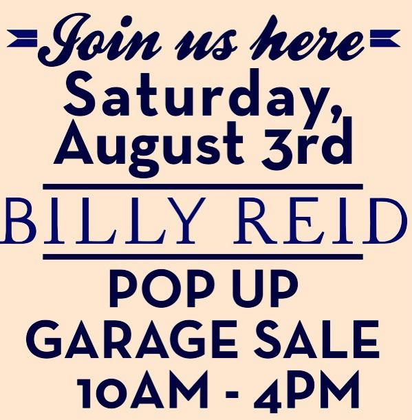 Nashville Billy Reid Garage Sale Pencil Paper Co