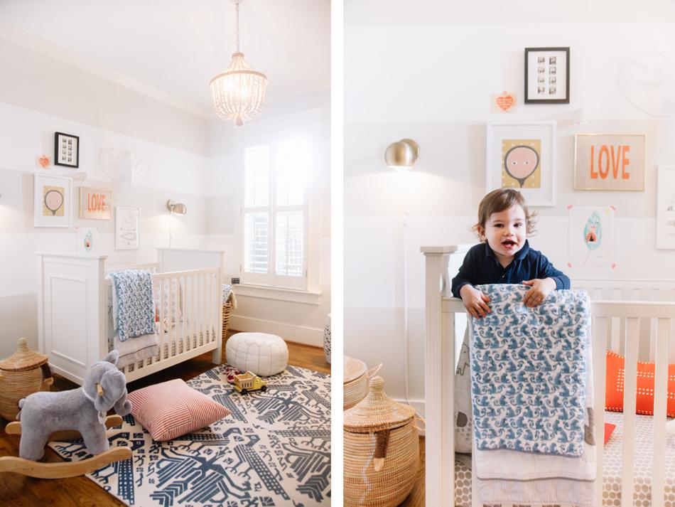 playful stripe nursery