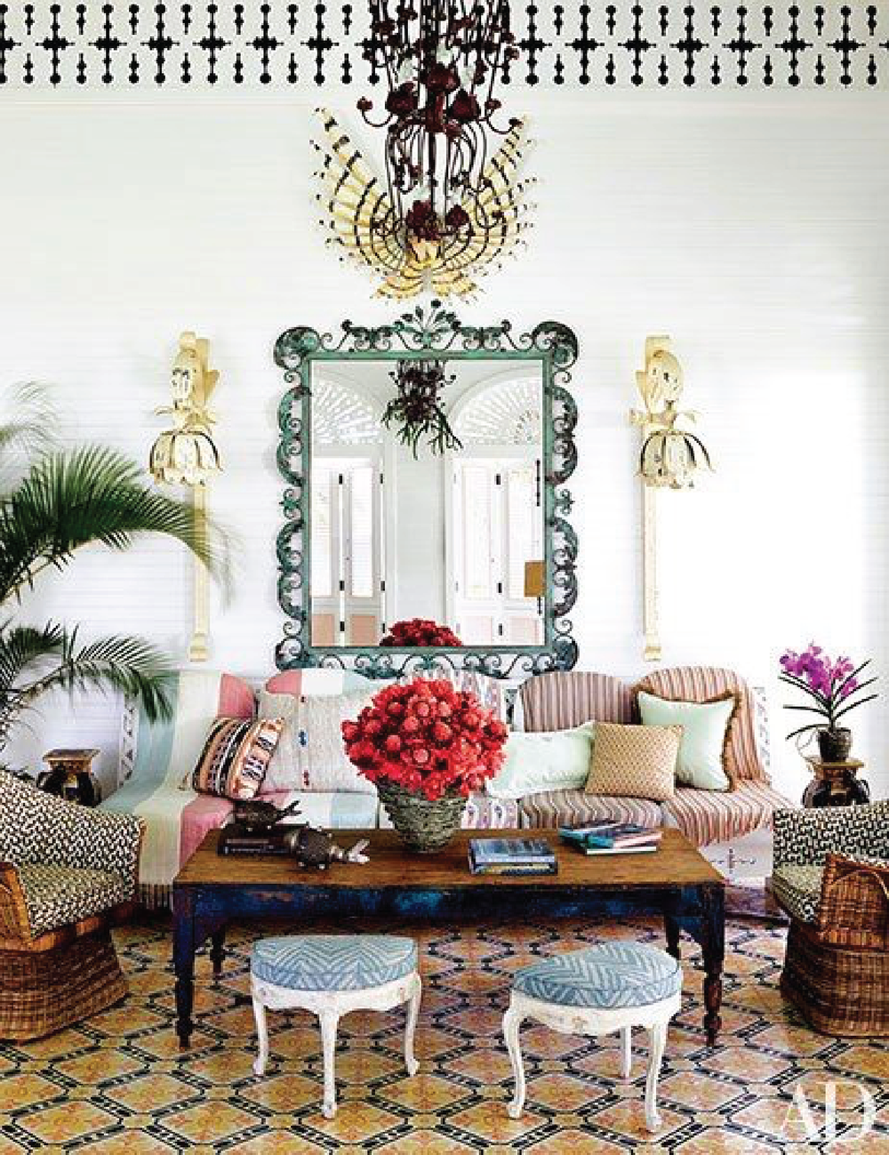 Celerie kemble 's dominican republic compound via  Architectural digest