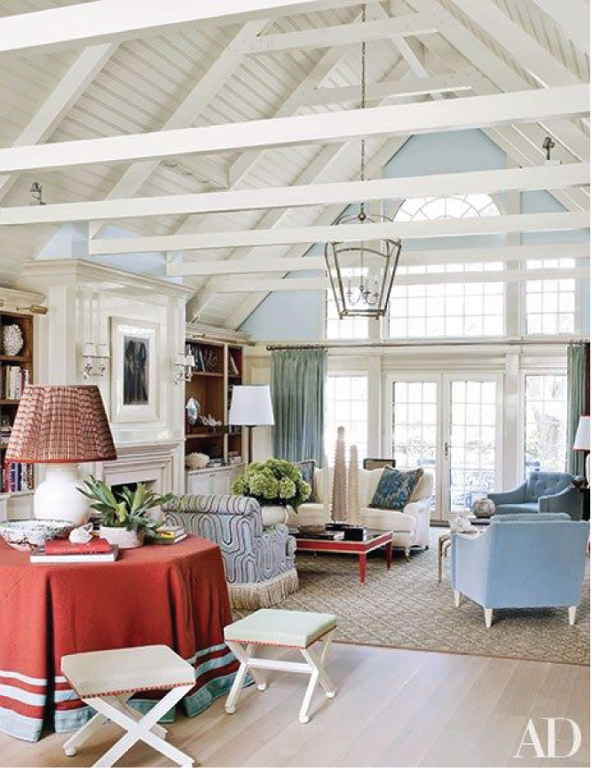image via  Architectural digest , design christopher burch