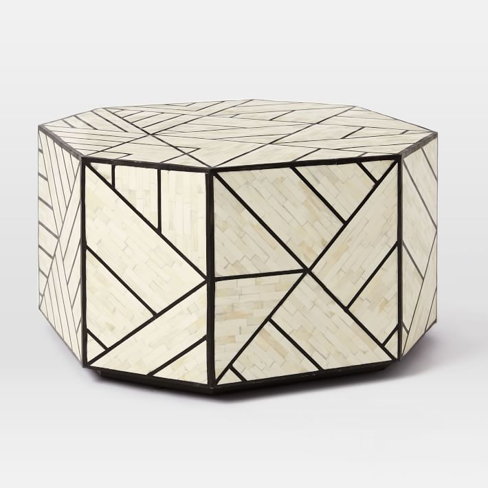bone inlaid coffee table  (see our coffee table round-up  here !) west elm— buy more save more event