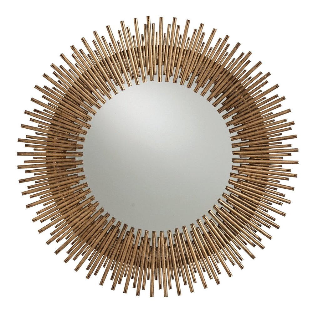 arteriors prescott round mirror  the mine— up to 70% off plus additional 15% off