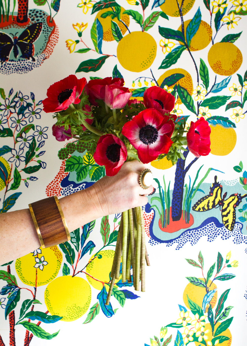 Schumacher's Josef Frank Wallpaper // Pencil & Paper Co.