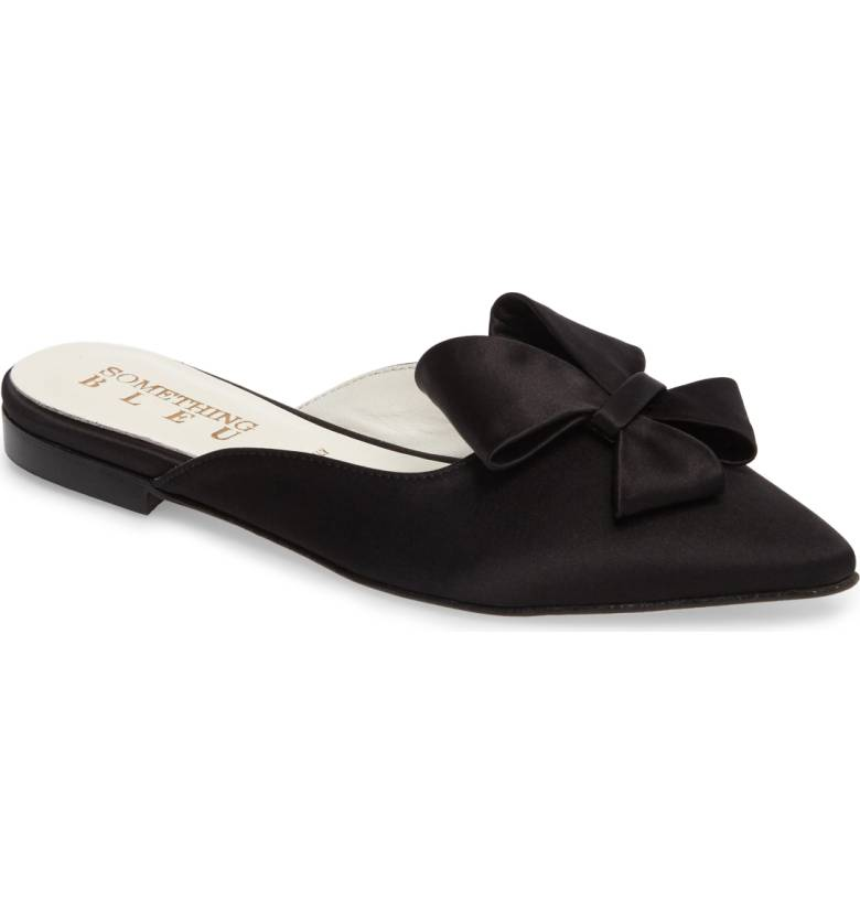 Bow Loafer Mule