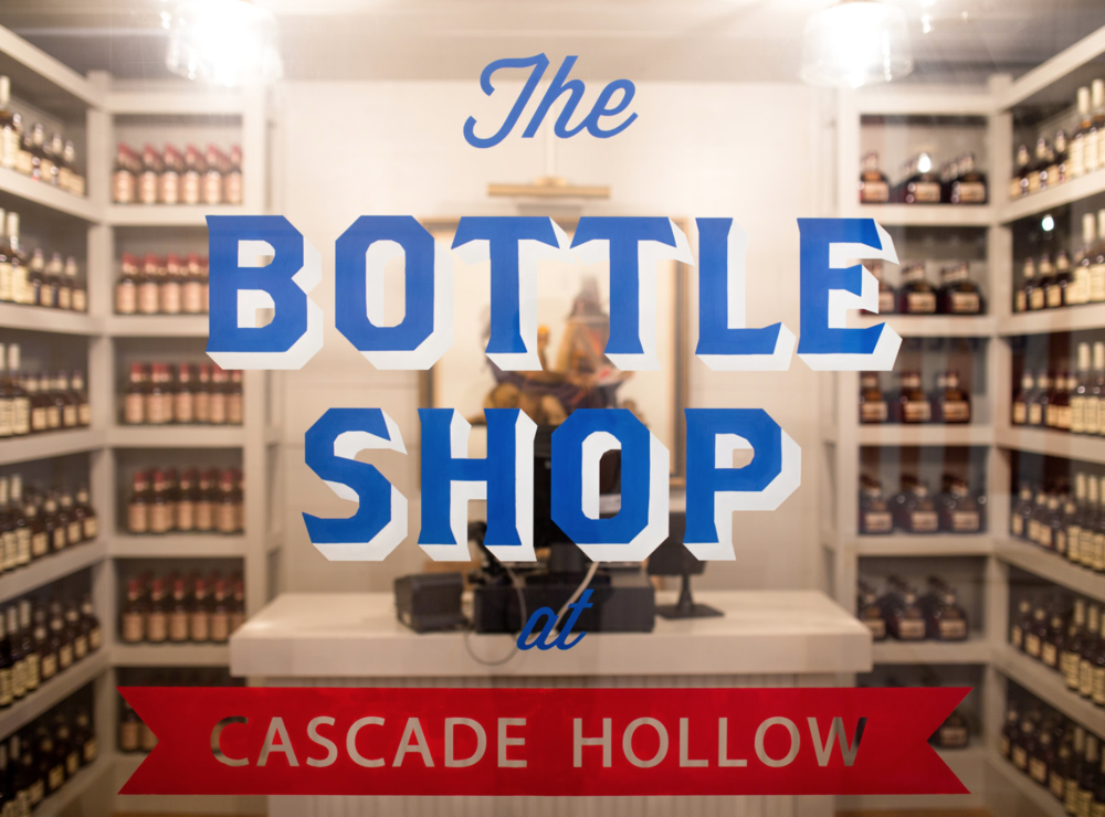 Bottle Shop at George Dickel Whisky at Cascade Hollow // Pencil & Paper Co.