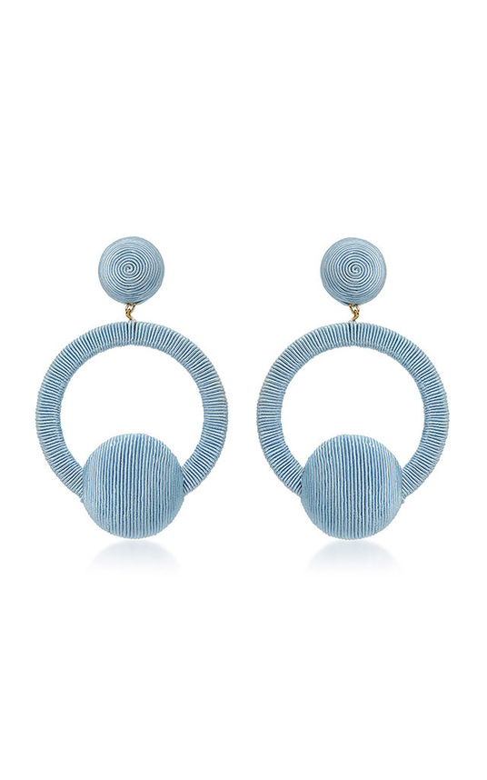 Claudia La La Hoop Earrings