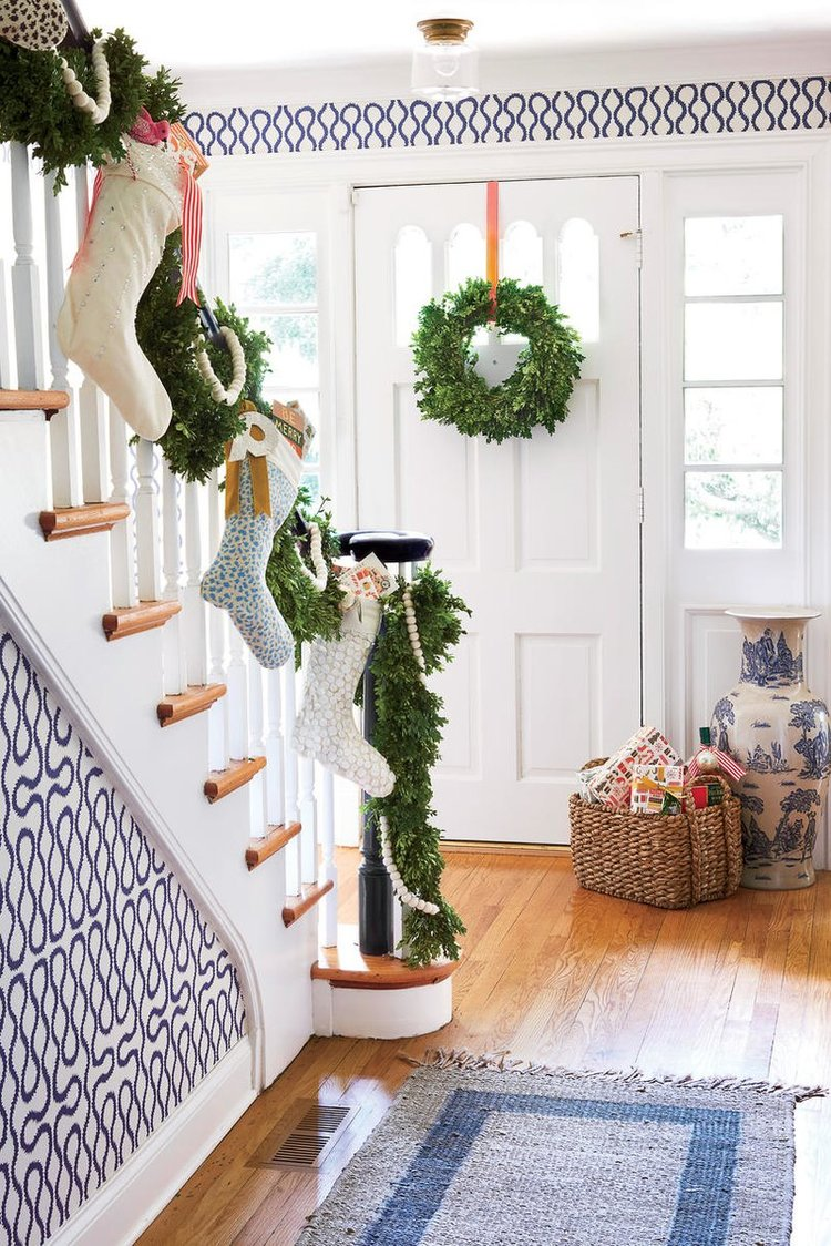 holiday decor with southern living pencil paper