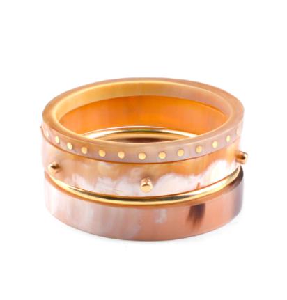 Horn Stack Bracelet