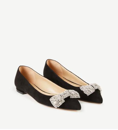 Jeweled Bow Flats