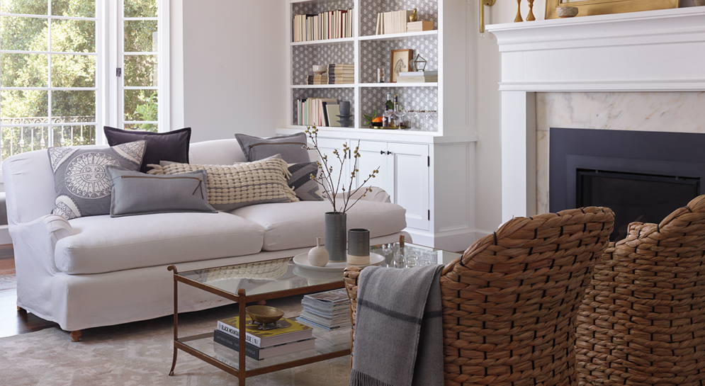 Serena & Lily Living Room Inspiration / Pencil & Paper Co.