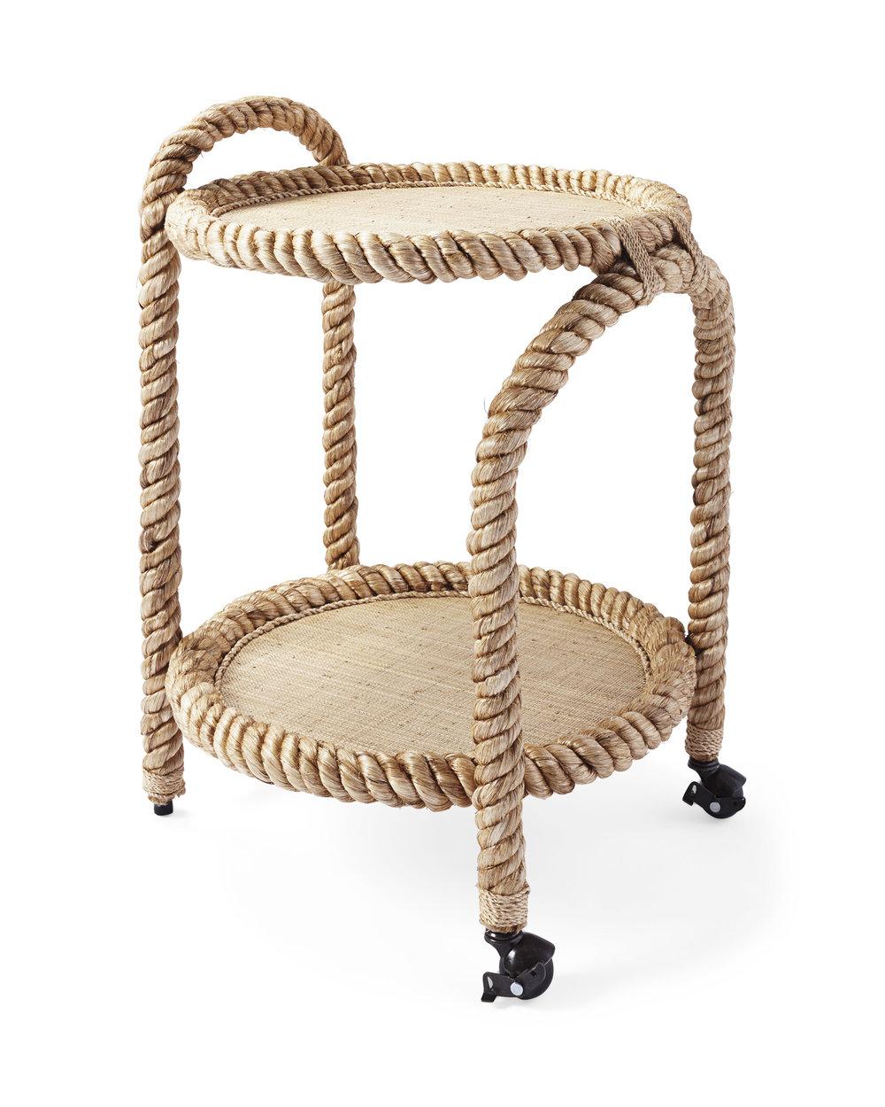 Rope Bar Cart