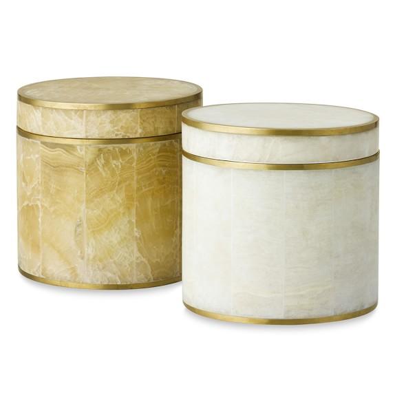 Brass Stone Jar