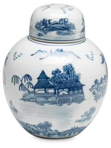 Blue & White Jar