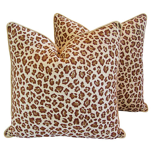 Leopard Pillows